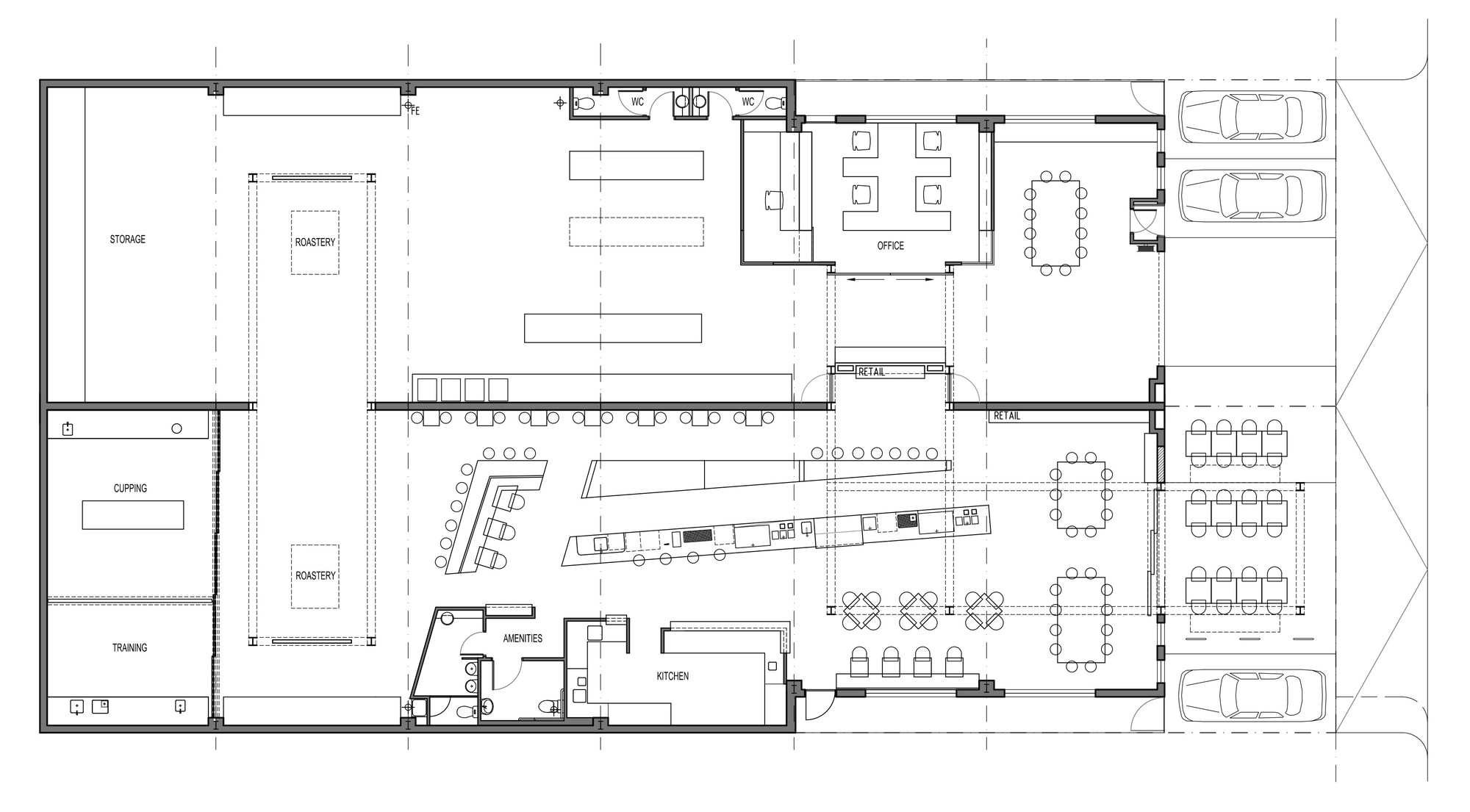Coffee Floor Plan: Gallery Of Code Black Coffee / Zwei Interiors Architecture
