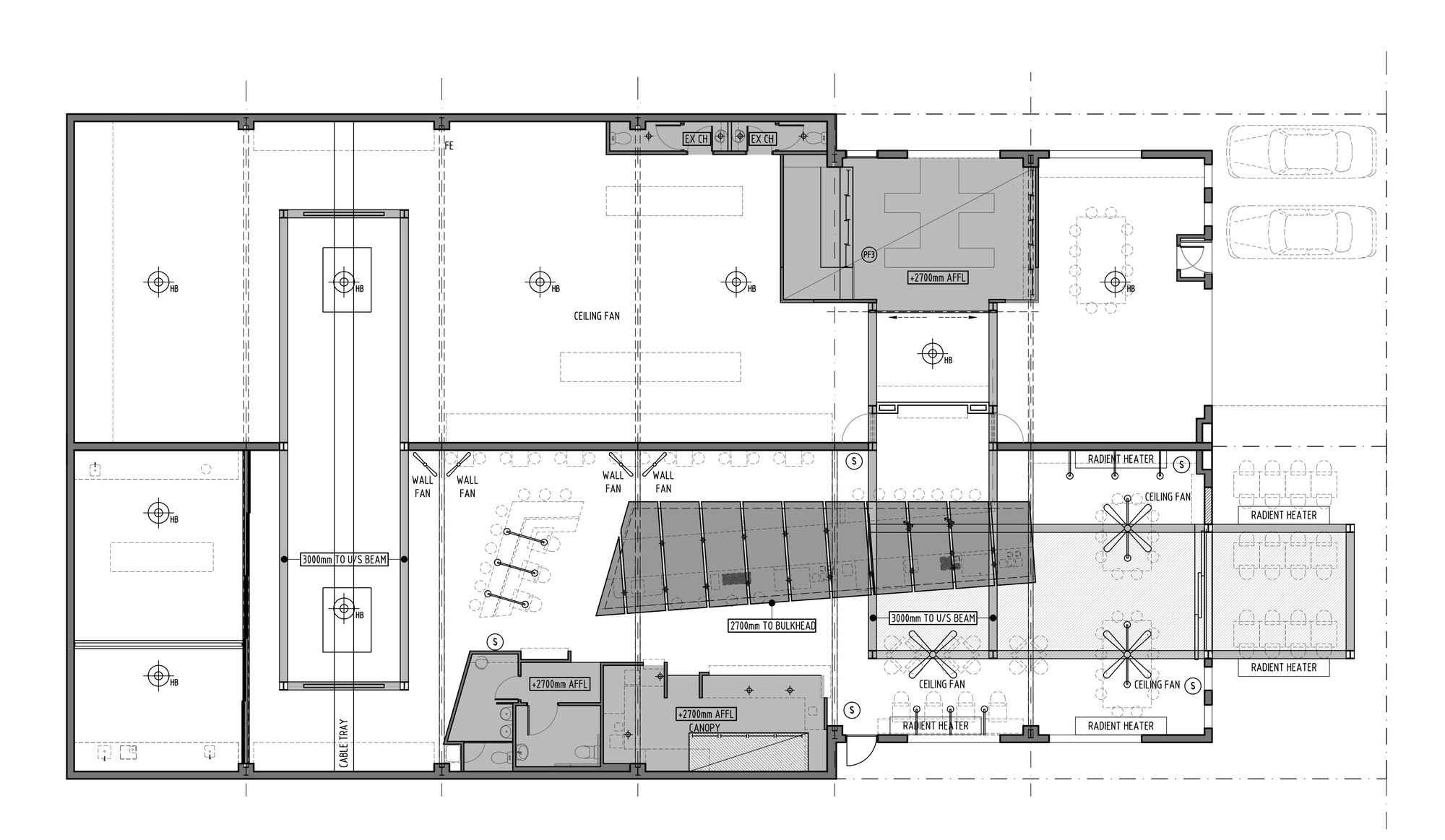 Gallery of code black coffee zwei interiors architecture for House plan drawing samples