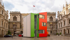 Rogers Stirk Harbour + Partners' Unveil Homeshell Prototype at London's RA