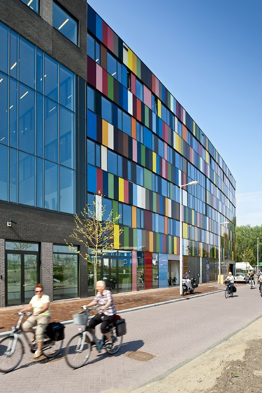 mbo college north burton hamfelt architectuur archdaily