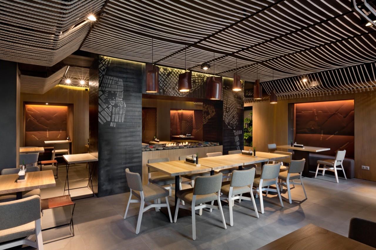 52140869e8e44e541e000046 Restaurant Odessa Yod Design Lab Photo on Cafe Restaurant Interior Design