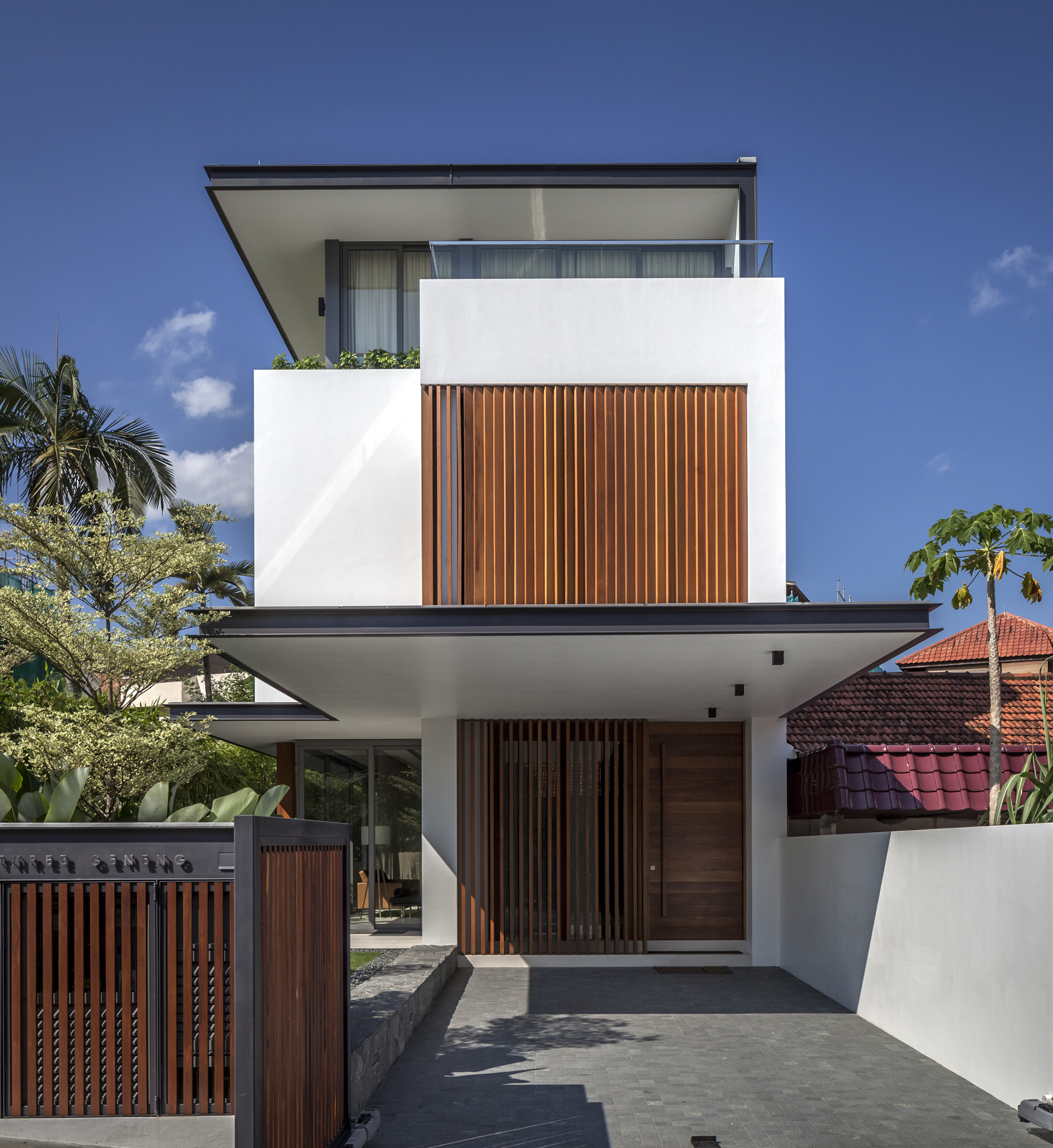^ Sunny Side House / Wallflower rchitecture + Design rchDaily