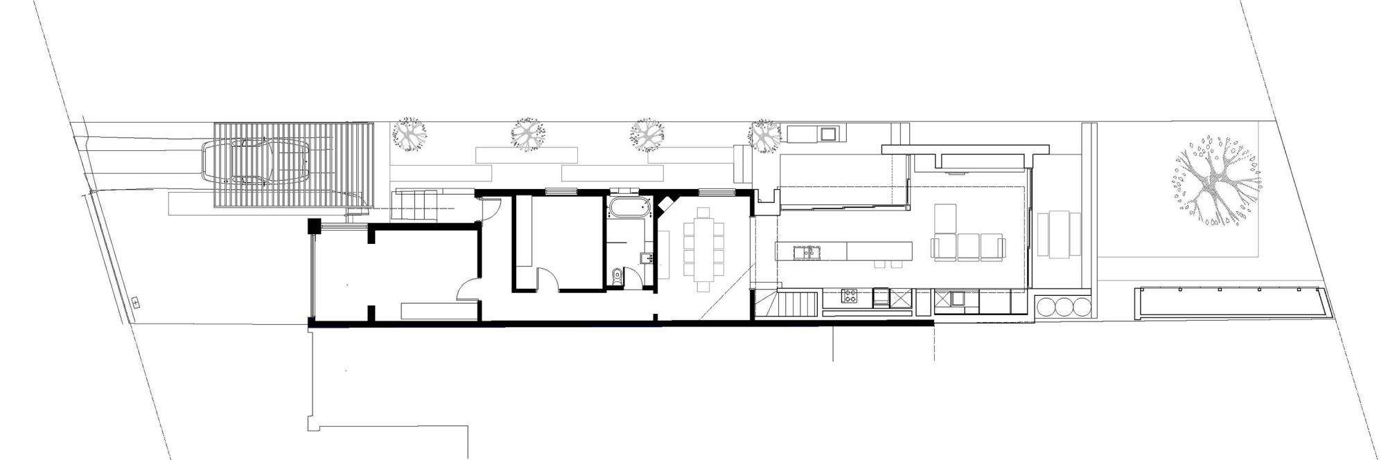 Gallery of g house fleming hernandez architects 17 for Fleming homes floor plans
