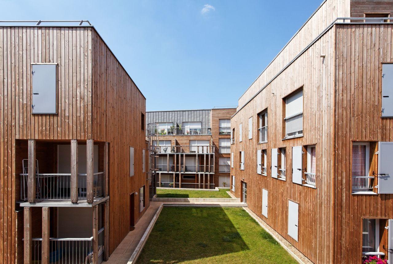49 Social Housing Estates / BROISSAND arch, © David Boureau