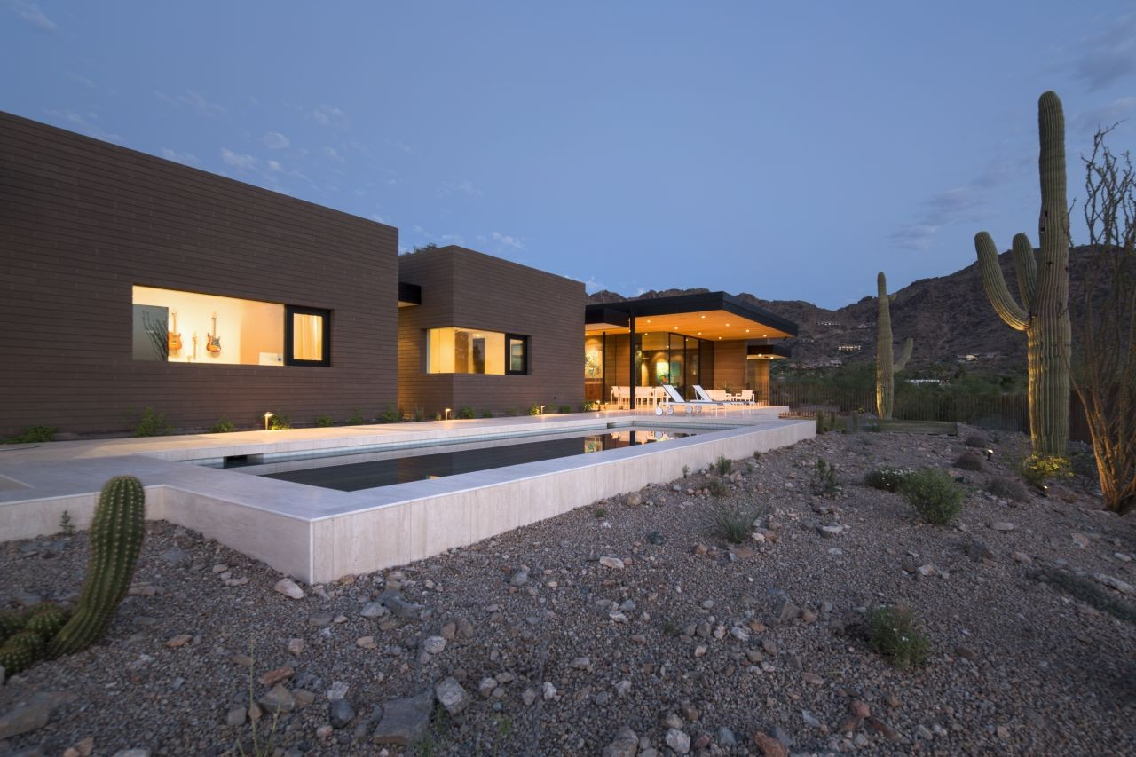 Rammed Earth Modern  Kendle Design ArchDaily - Earth home designs
