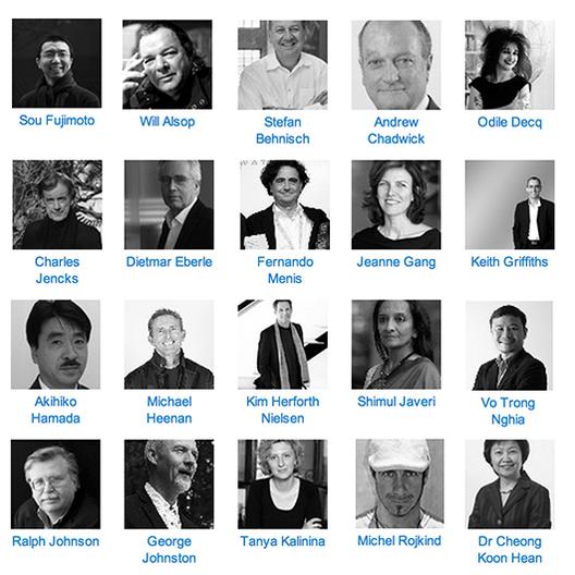 Charlas en el World Architecture Festival: Sou Fujimoto, Dietmar Eberle, Charles Jencks, Jeanne Gang, y más!