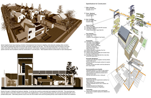 "A rendering from ""Sited in the Setback,"" a winning proposal from the Build a Better Burb competition, by Meri Tepper and Ryall Porter Sheridan Architects. Image Courtesy of Build A Better Burb Competition"
