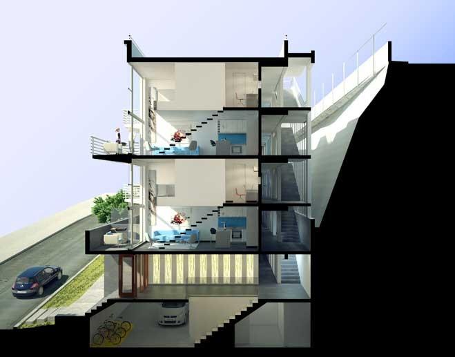 Proyecto de la oficina Rearquitectura es el primero en obtener calificación energética MINVU en Valparaíso, © Rearquitectura