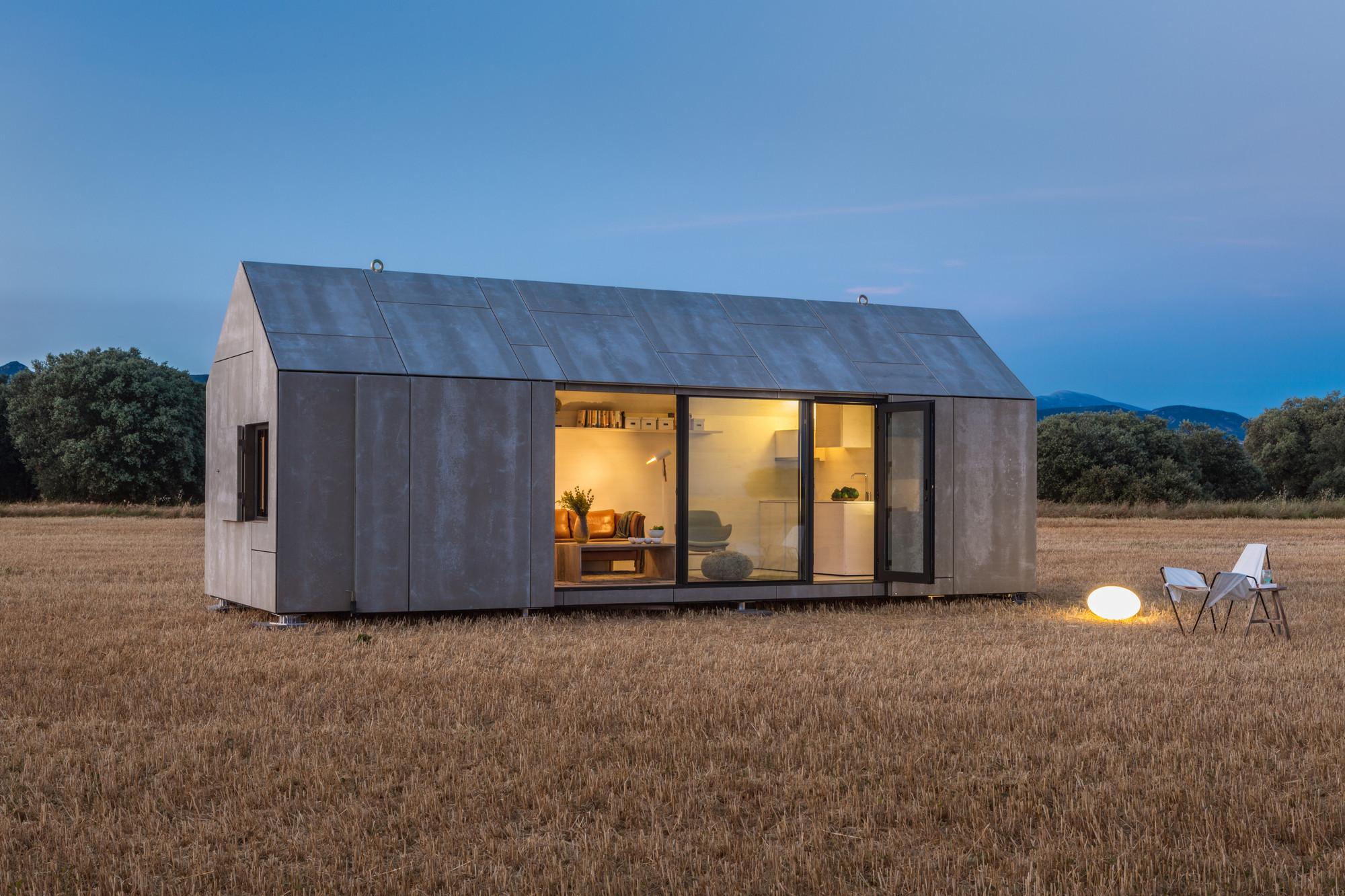 Portable House ÁPH80 / Ábaton Arquitectura, © Juan Baraja