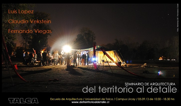 Seminario del Territoria al Detalle / Universidad de Talca