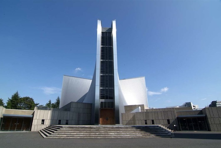 Spotlight: Kenzō Tange, St. Mary Cathedral. Image © Scarletgreen