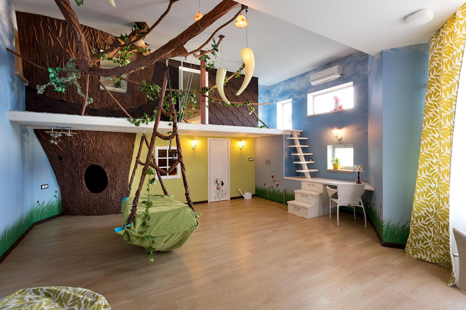 Необычный дизайн комнаты фото