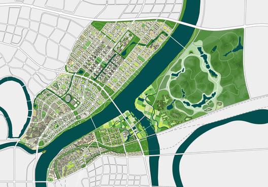 Green Loops - City Masterplan © ADEPT