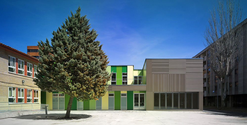 Extension of the fray pedro ponce de leon special - Colegio arquitectos leon ...