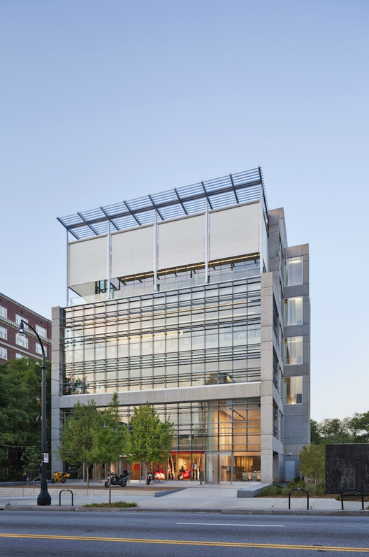 1315 Peachtree, in Atlanta, achieved LEED Platinum Certification. However, will newer buildings in Georgia be held to the same standards? . Image Courtesy of Perkins + Will