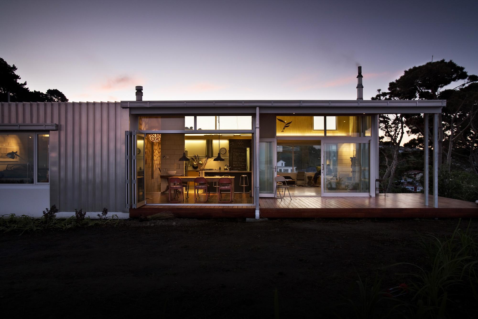 Harding House Athfield Architects Archdaily