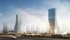 Harbin Twin Towers Proposal / spatial practice