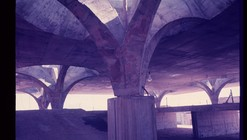 Fotografias antigas da construção da Rodoviária de Jaú de Vilanova Artigas