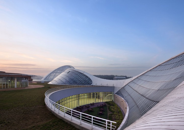 Ecorium del Instituto Nacional de Ecología / Samoo Architects & Engineers + Grimshaw Architects  , © Young Chae Park