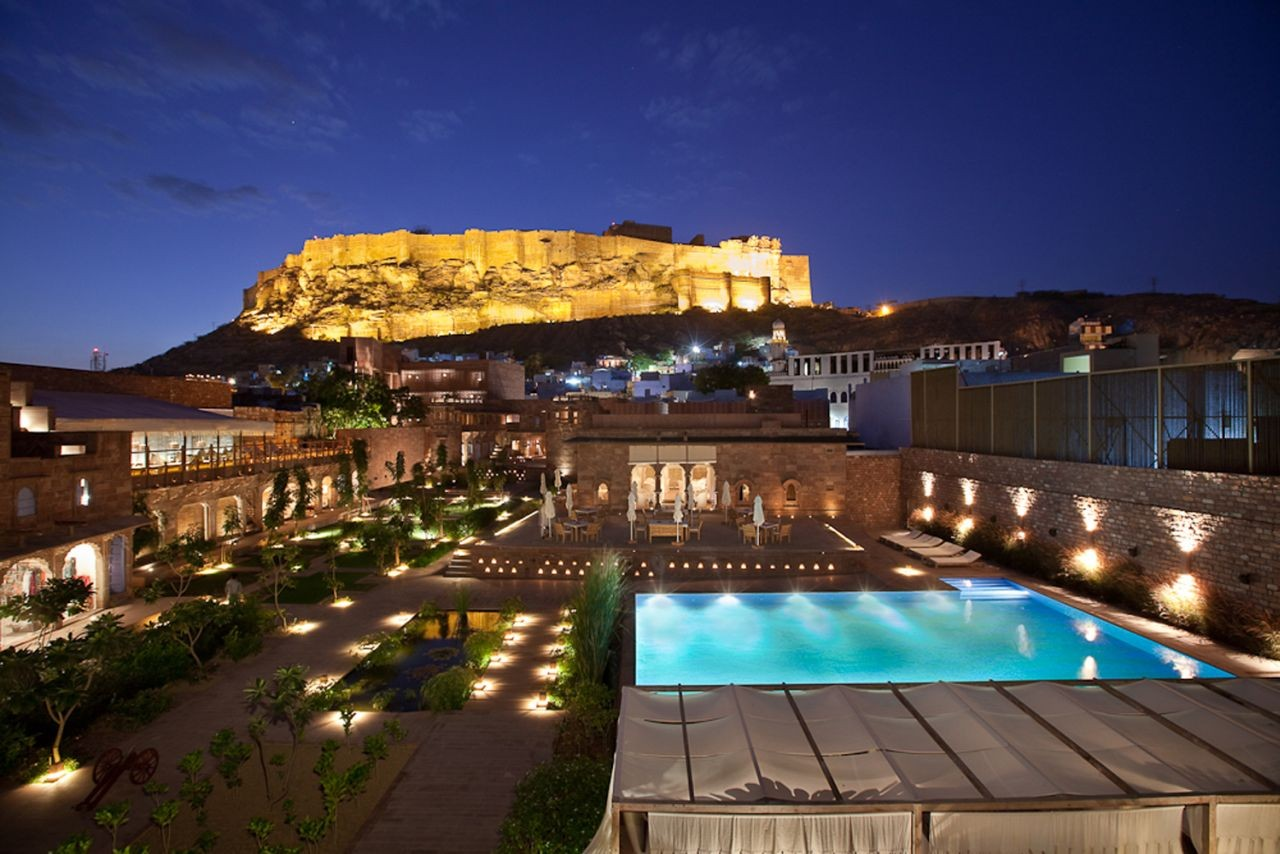 Gallery of raas jodhpur the lotus praxis initiative 3 for Beautiful hotels