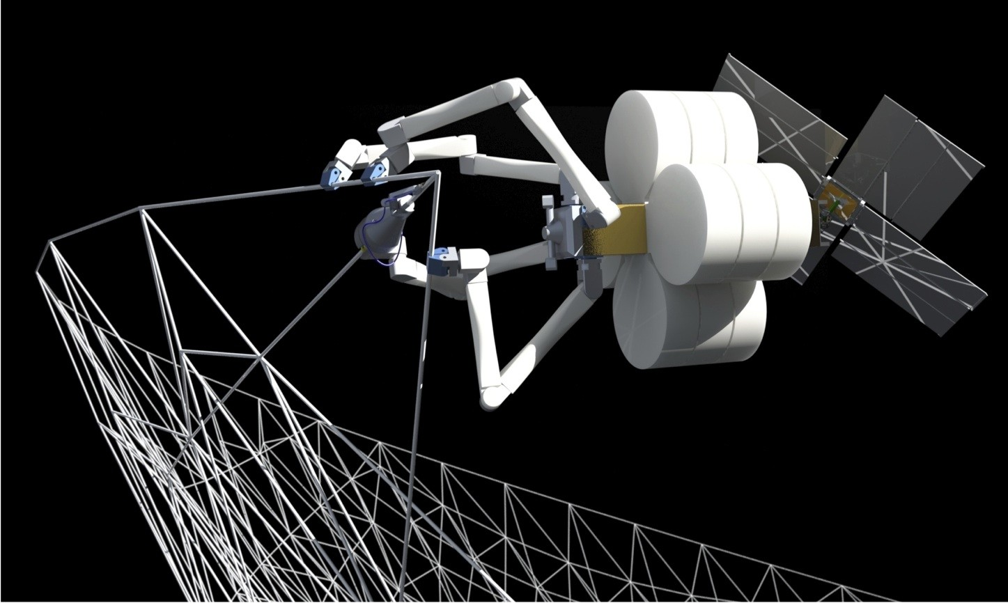 NASA Plans to 3D Print Spacecraft in Orbit, © Tethers Unlimited Inc.