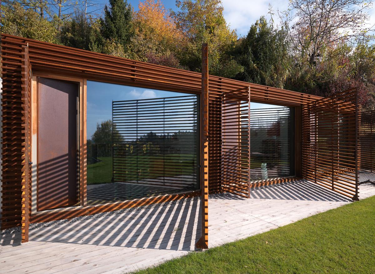 Gallery of casa y f l architetti 4 for Log casa architetti