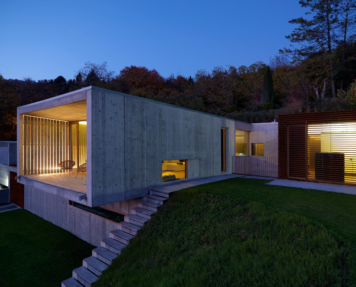 Gallery of casa y f l architetti 12 for Log casa architetti