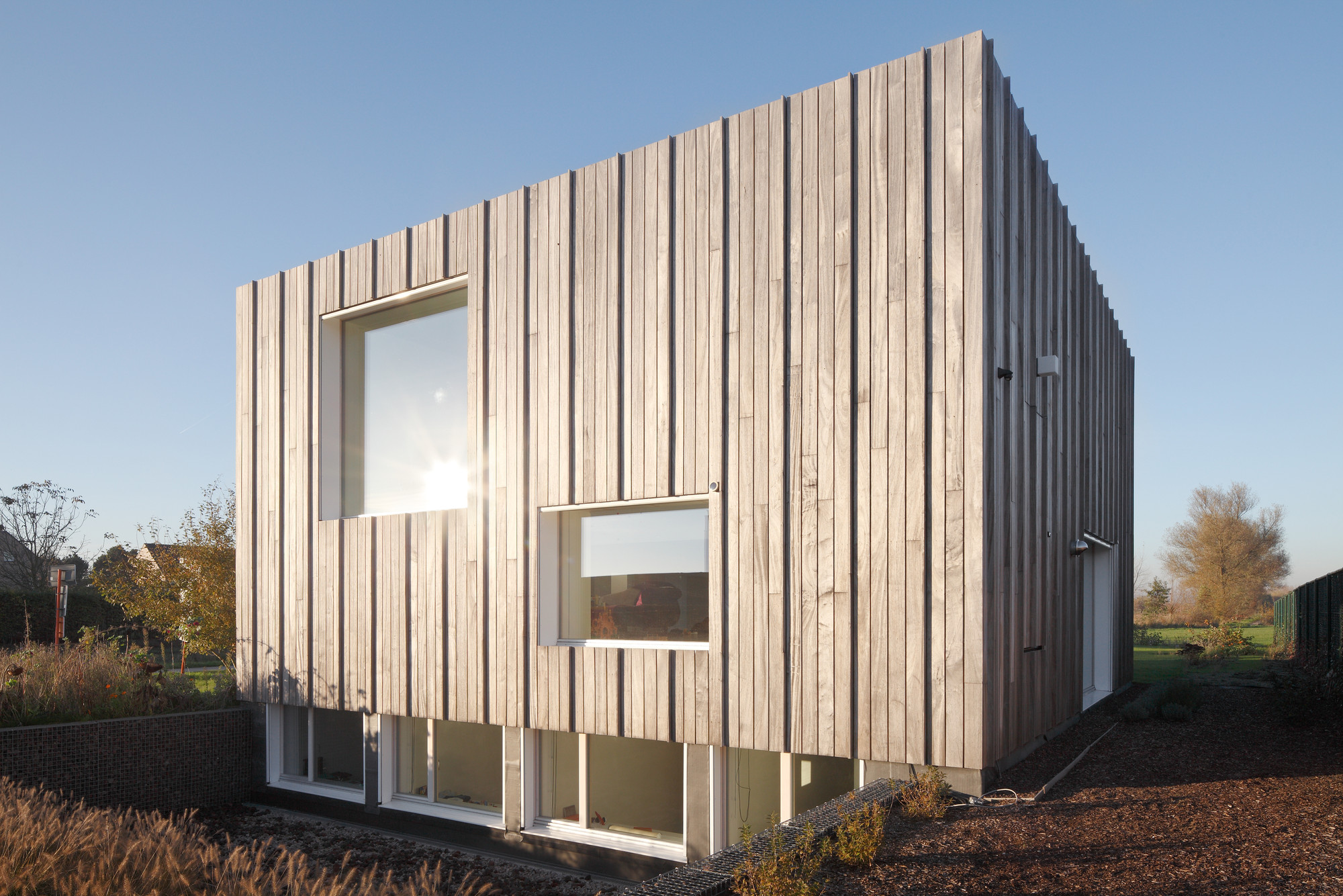 Gallery of zero energy house lokeren blaf architecten 4 Zero energy homes