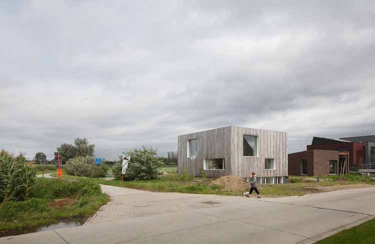 Vivienda Energy Zero en Lokeren / BLAF Architecten, © Stijn Bollaert