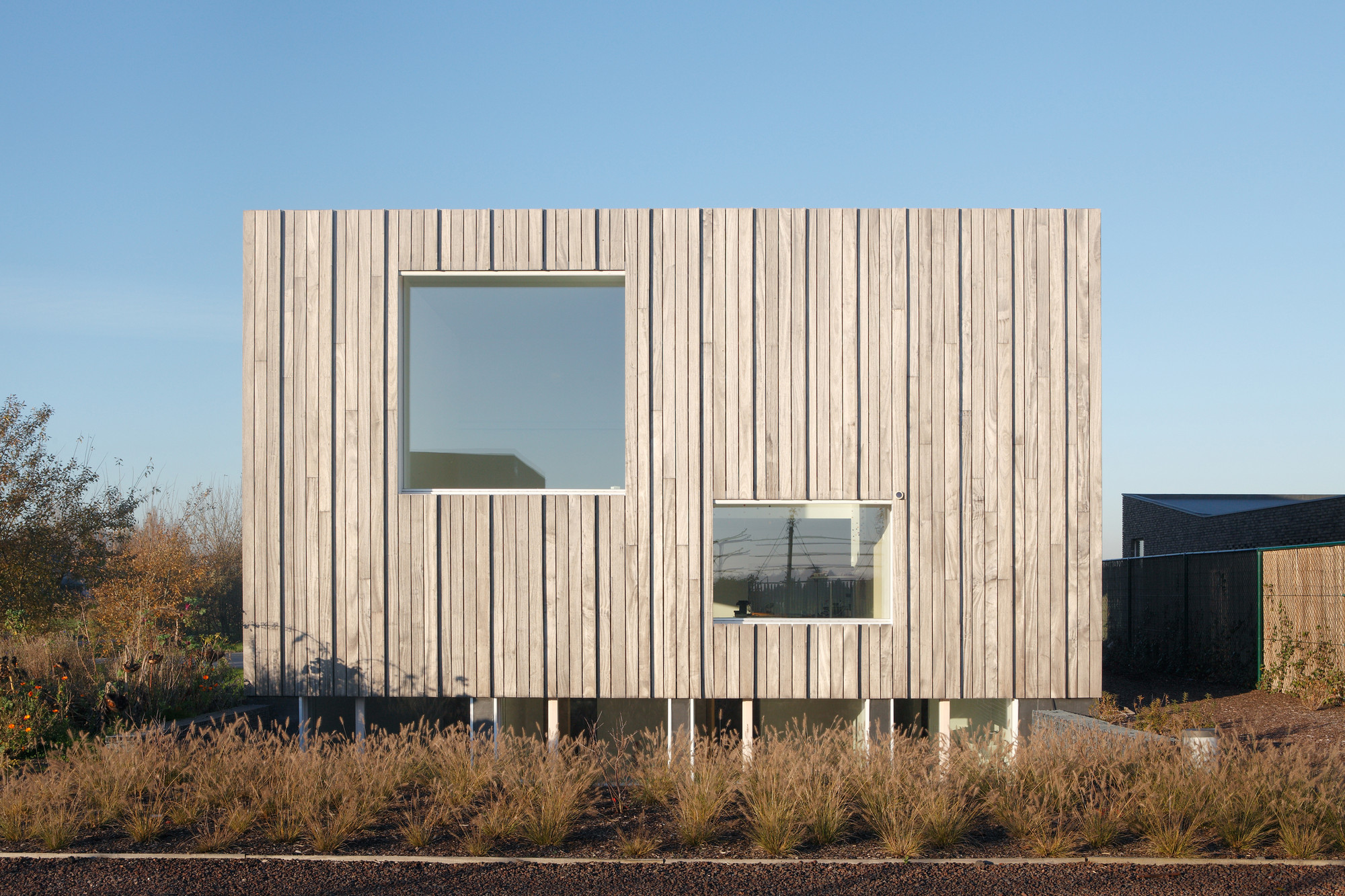 Gallery of zero energy house lokeren blaf architecten 11 Zero energy homes