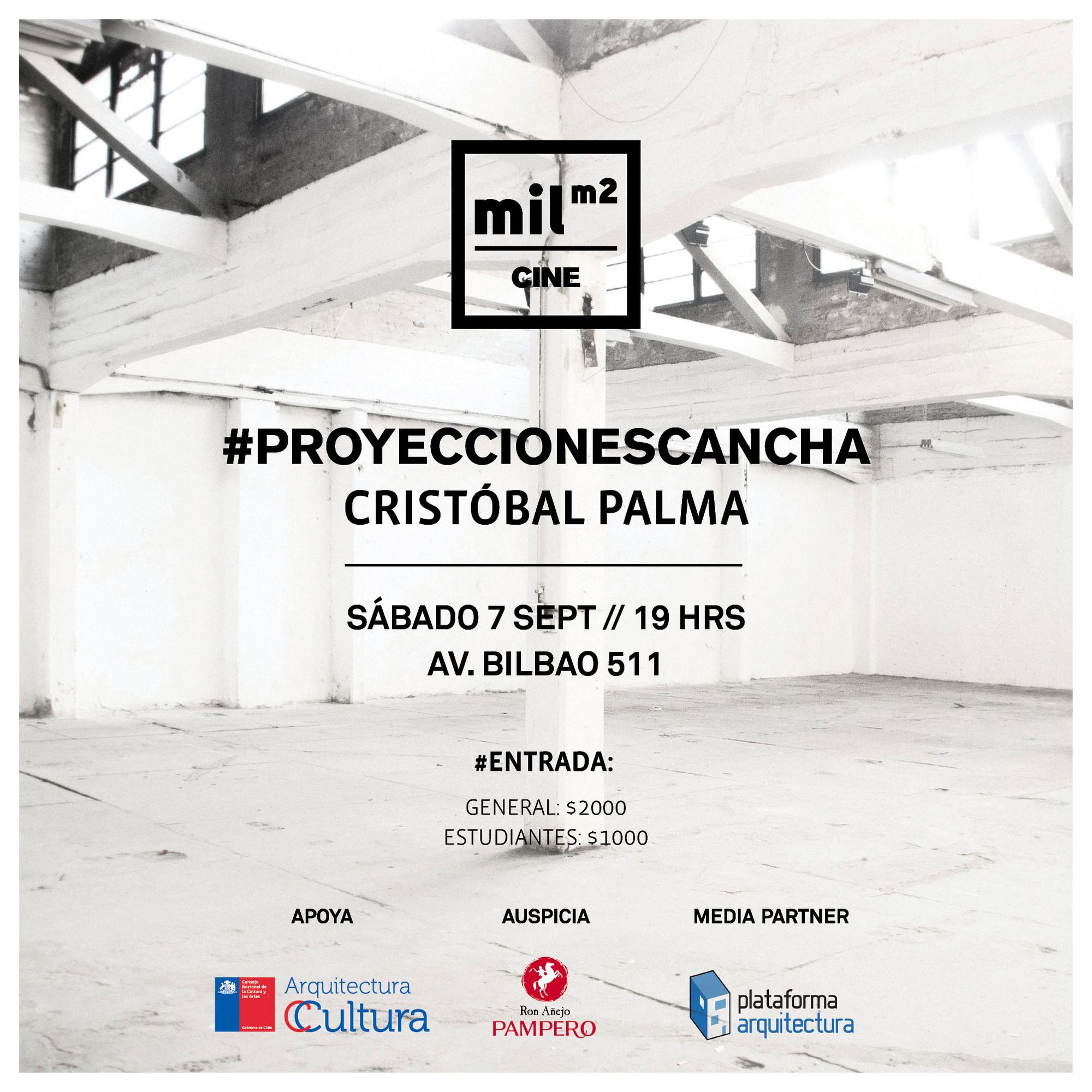 #ProyeccionesCancha, micro documentales de Cristóbal Palma