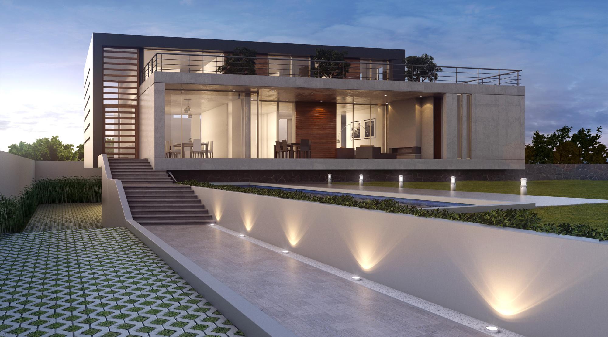 Casas de diseno minimalista