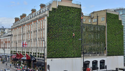 "London's Largest ""Living Wall"" / Gary Grant"