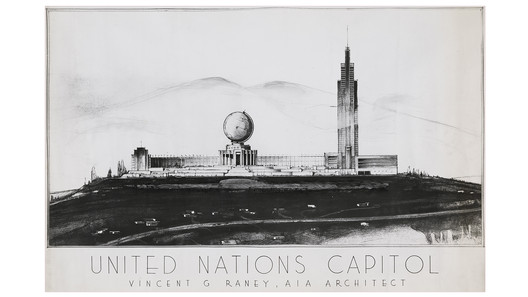 Designs for United Nations Capitol / Vincent Raney Architect