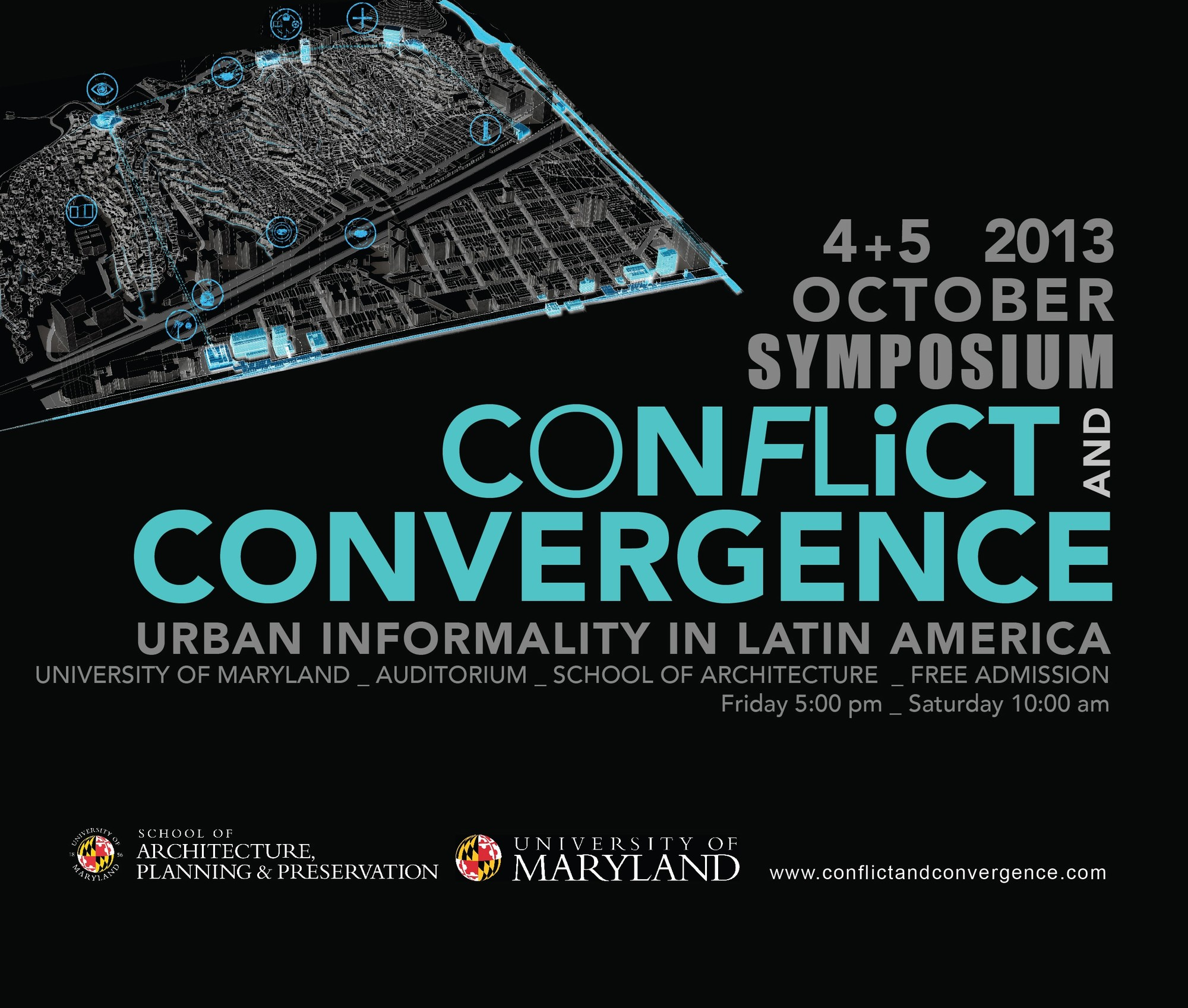Simposio 'Conflicto y Convergencia: Informalidad Urbana en América Latina' , Cortesía de University of Maryland School of Architecture, Planning and Preservation
