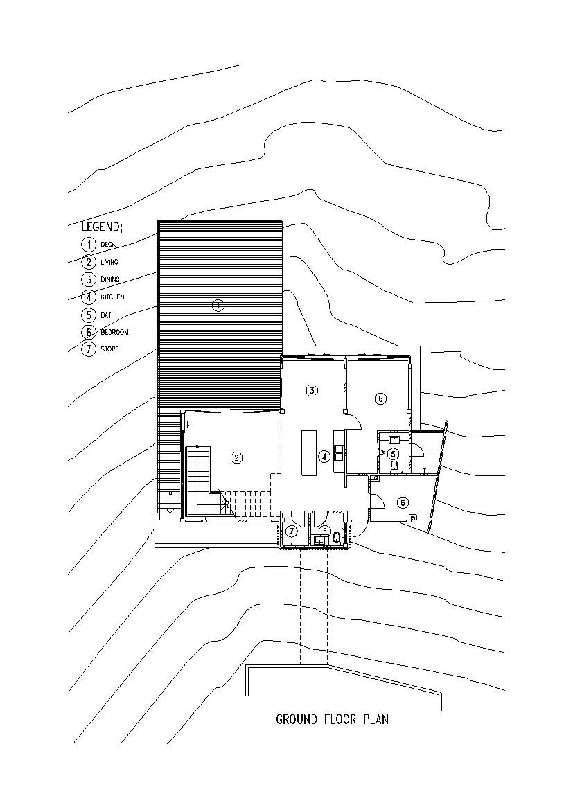 Deck house floor plans