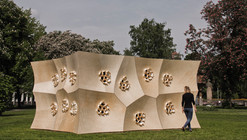HygroSkin-Meteorosensitive Pavilion / Achim Menges Architect + Oliver David Krieg + Steffen Reichert