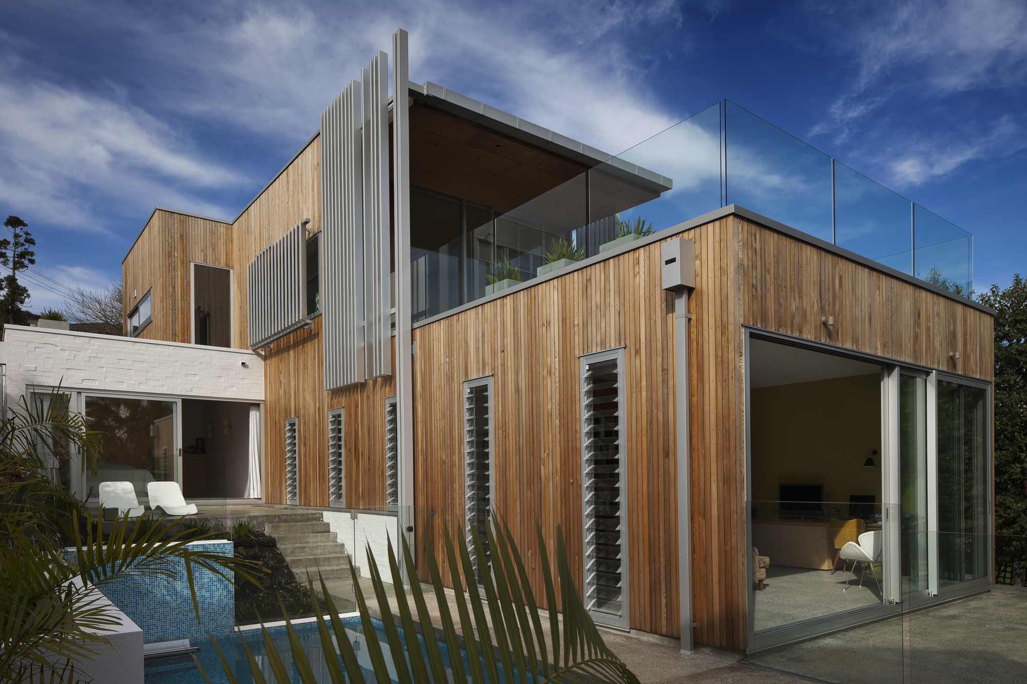 Brown Vujcich House / Bossley Architect's, © Patrick Reynolds