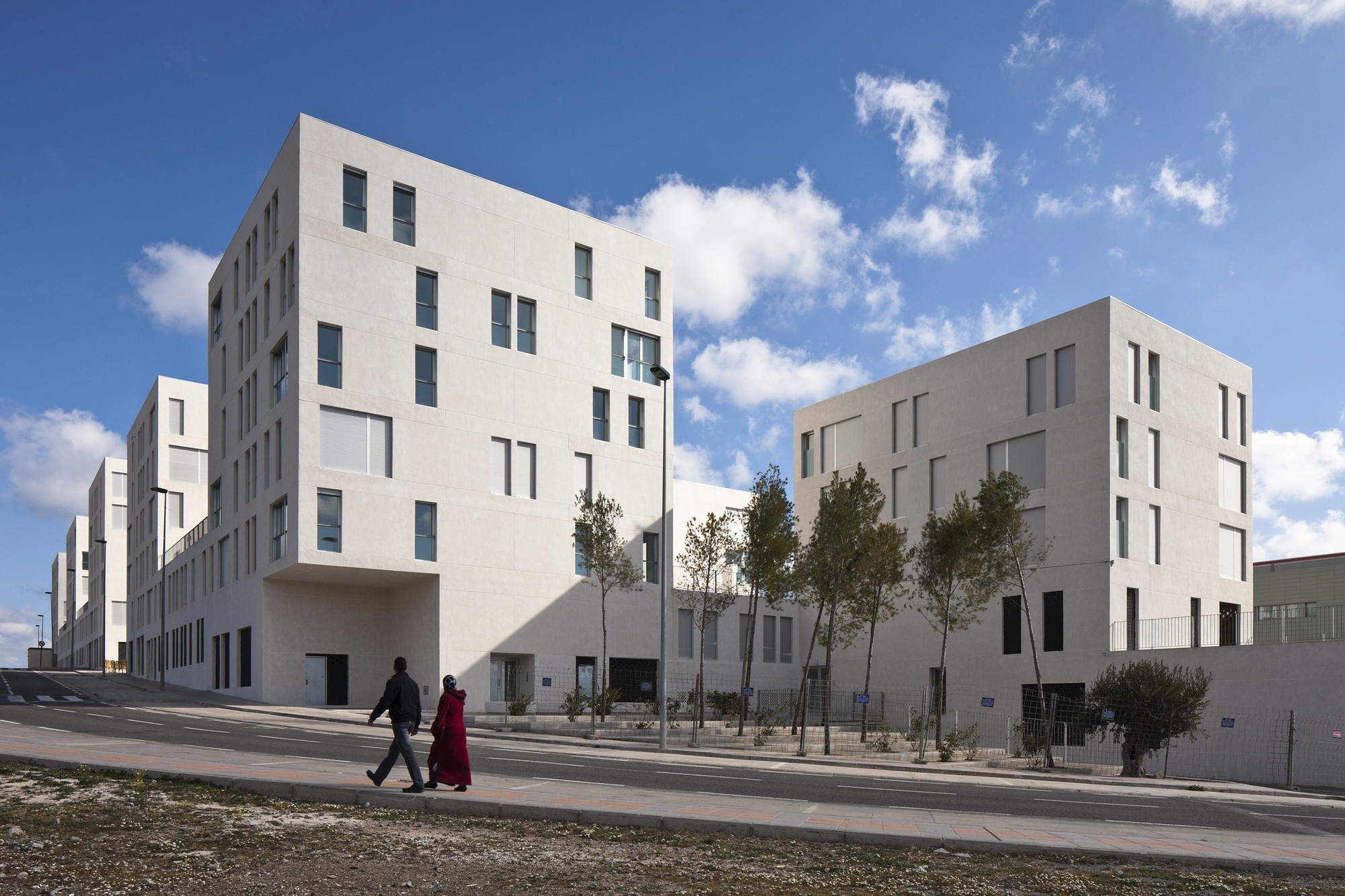 Social Housing In Ceuta Ind Inter National Design