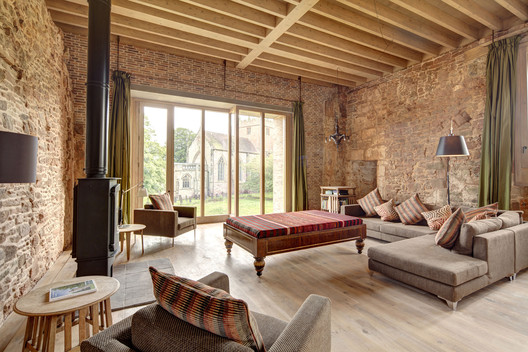 Astley Castle / Witherford Watson Mann Architects. Image