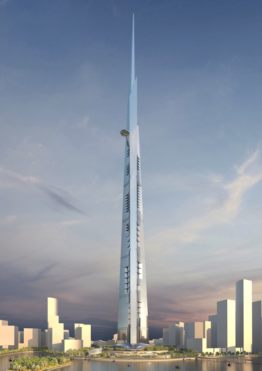 Vanity Height: How Much of a Skyscraper is Usable Space?, 1. Kingdom Tower / Adrian Smith + Gordon Gill Architecture. Image © Adrian Smith + Gordon Gill Architecture