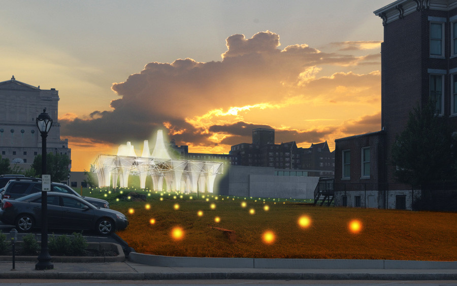 Freecell Wins Competition to Transform St. Louis Vacant Lot into Cultural Destination, Courtesy of Freecell Architecture
