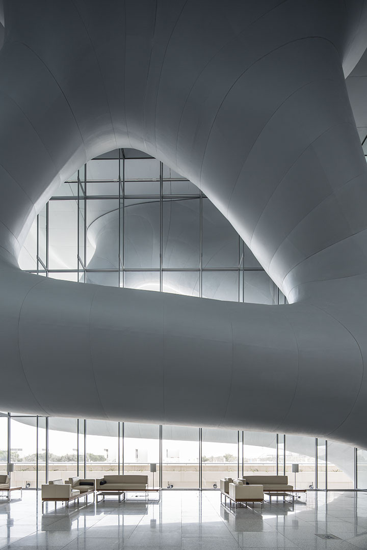 Gallery of qatar national convention centre arata for Architecture qatar