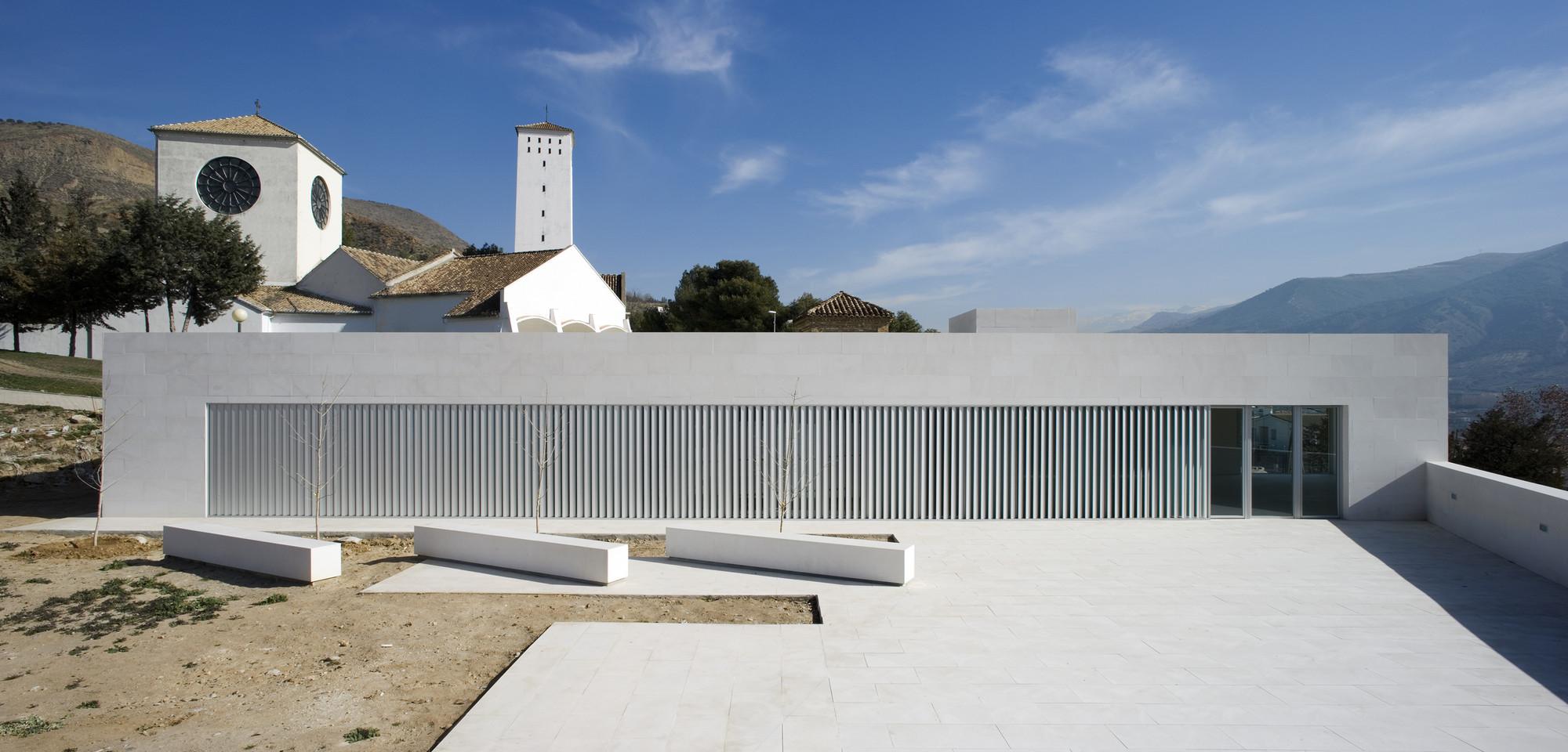 Polyvalent Social Center in Lancha del Genil / Elisa Valero Ramos, © Fernando Alda