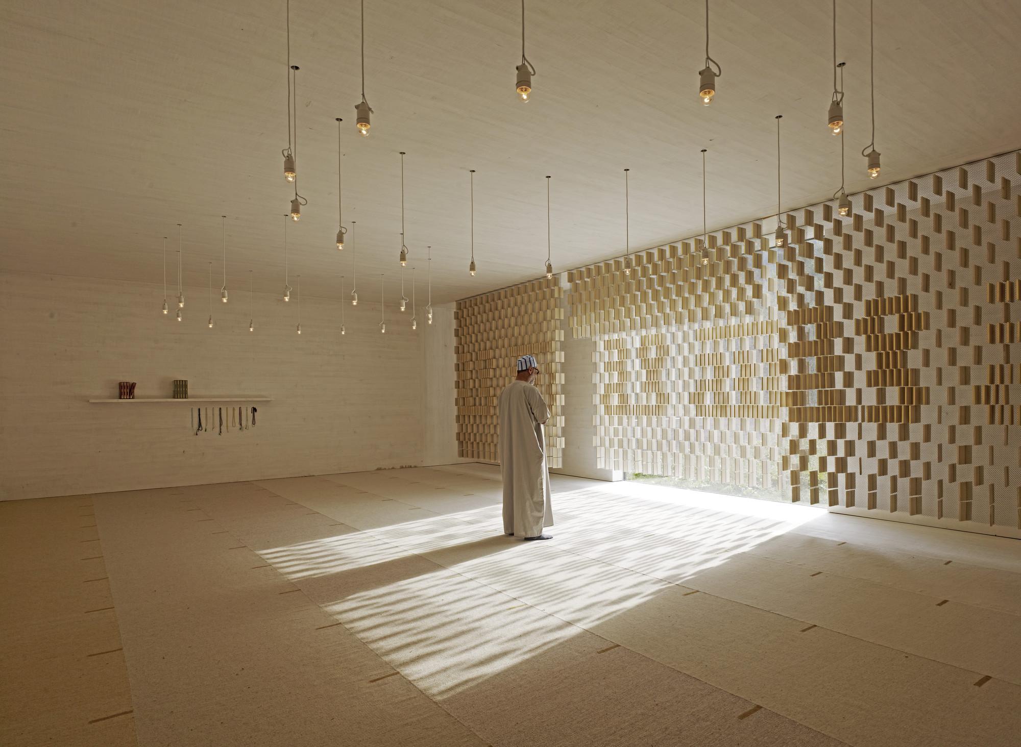 Islamic Cemetery, Altach, Austria / Bernado Bader Architects. Image © AKAA / Marc Lins