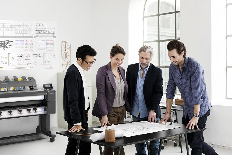Los grandes cambios en el diseño de impresoras de gran formato y su eficacia para los despachos de arquitectura