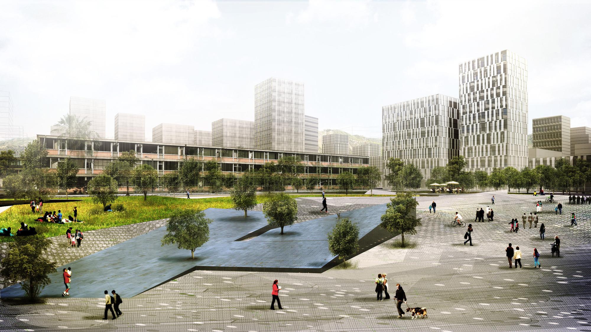 Tercer Lugar Masterplan del Centro Administrativo Nacional (CAN) de Bogotá, Courtesy of Equipo Tercer Lugar