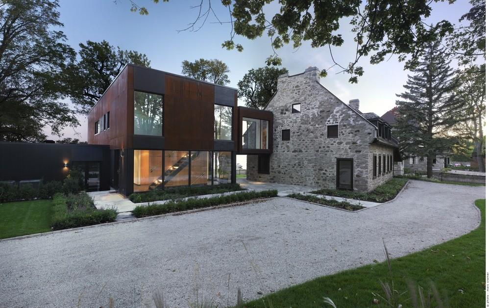 Bord-du-Lac House / Henri Cleinge, © Marc Cramer