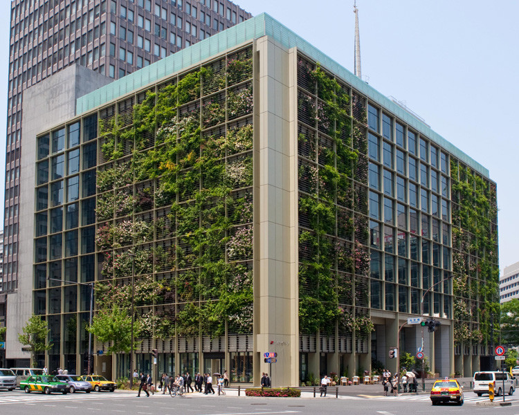 In Tokyo, A Vertical Farm Inside and Out, Courtesy of Kono Designs