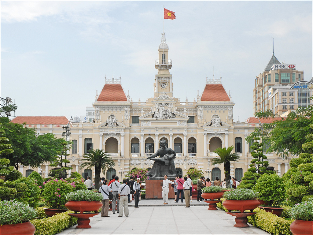 The Ho Chi Minh City People's Community building. Image © Jean-Pierre Dalbéra, Flickr User dalbera